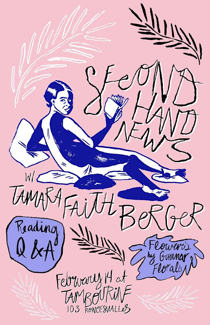 Secondhand News with Tamara Faith Berger image