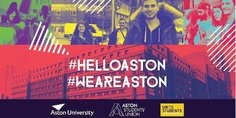 Aston Welcome Week  2019 tickets