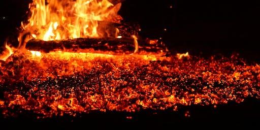 Lincolnshire Viking Themed Firewalk