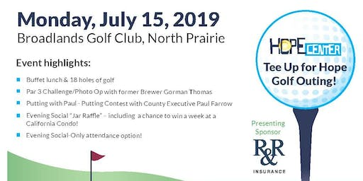 Tee Up For Hope 11th Annual Golf Outing