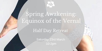 Spring Awakening: Half-Day Yoga Retreat