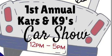 Kars and K9's Car Show tickets