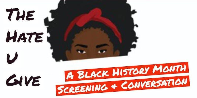 The Hate u Give Screening
