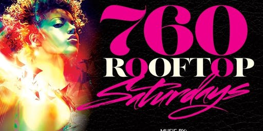 760 Rooftop Saturdays #1 Voted Playing Hip Hop | Caribbean | Afroblends