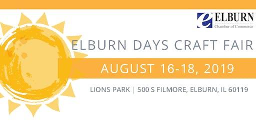 2019 Elburn Days Craft Fair