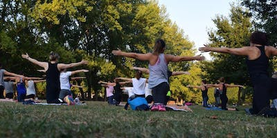 Earth Day Yoga In the Park