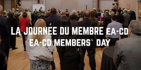 EA-CD Members' Day/La journée du membre EA-CD  billets