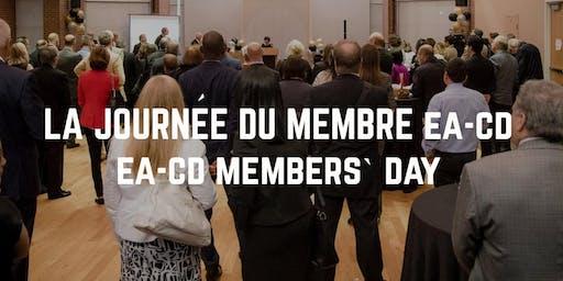 EA-CD Members' Day/La journée du membre EA-CD