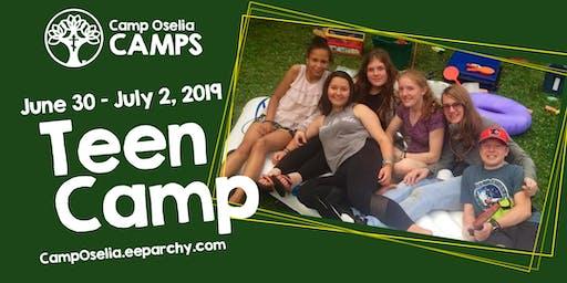 Camp Oselia Teen Camp
