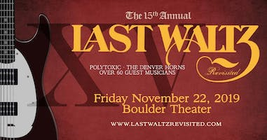 15TH ANNUAL THE LAST WALTZ - REVISTED