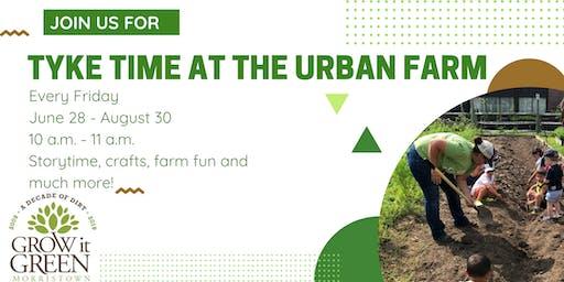 Tyke Time at the Urban Farm