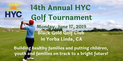 14th Annual HYC Golf Tournament Fundraiser