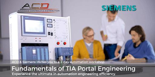 Siemens Fundamentals of TIA Portal 2-Day Workshop (8/13/19 -8/14/19)