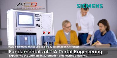 Siemens Fundamentals of TIA Portal 2-Day Workshop (10/1-10/2)