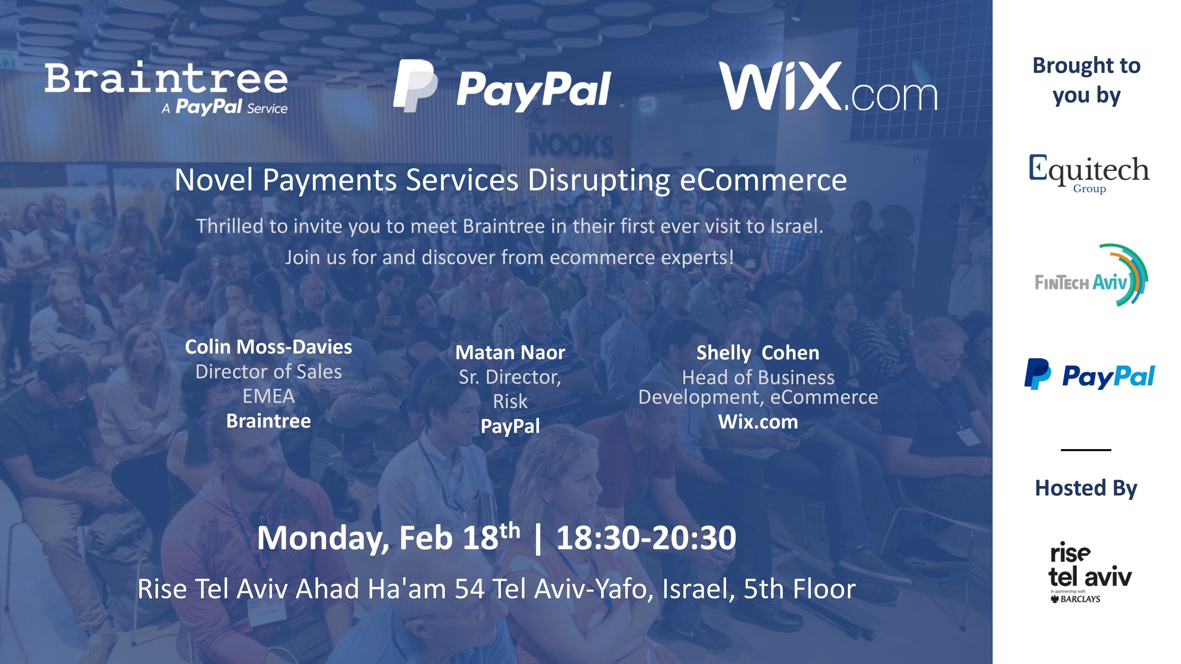 Novel Payments Services Disrupting eCommerce