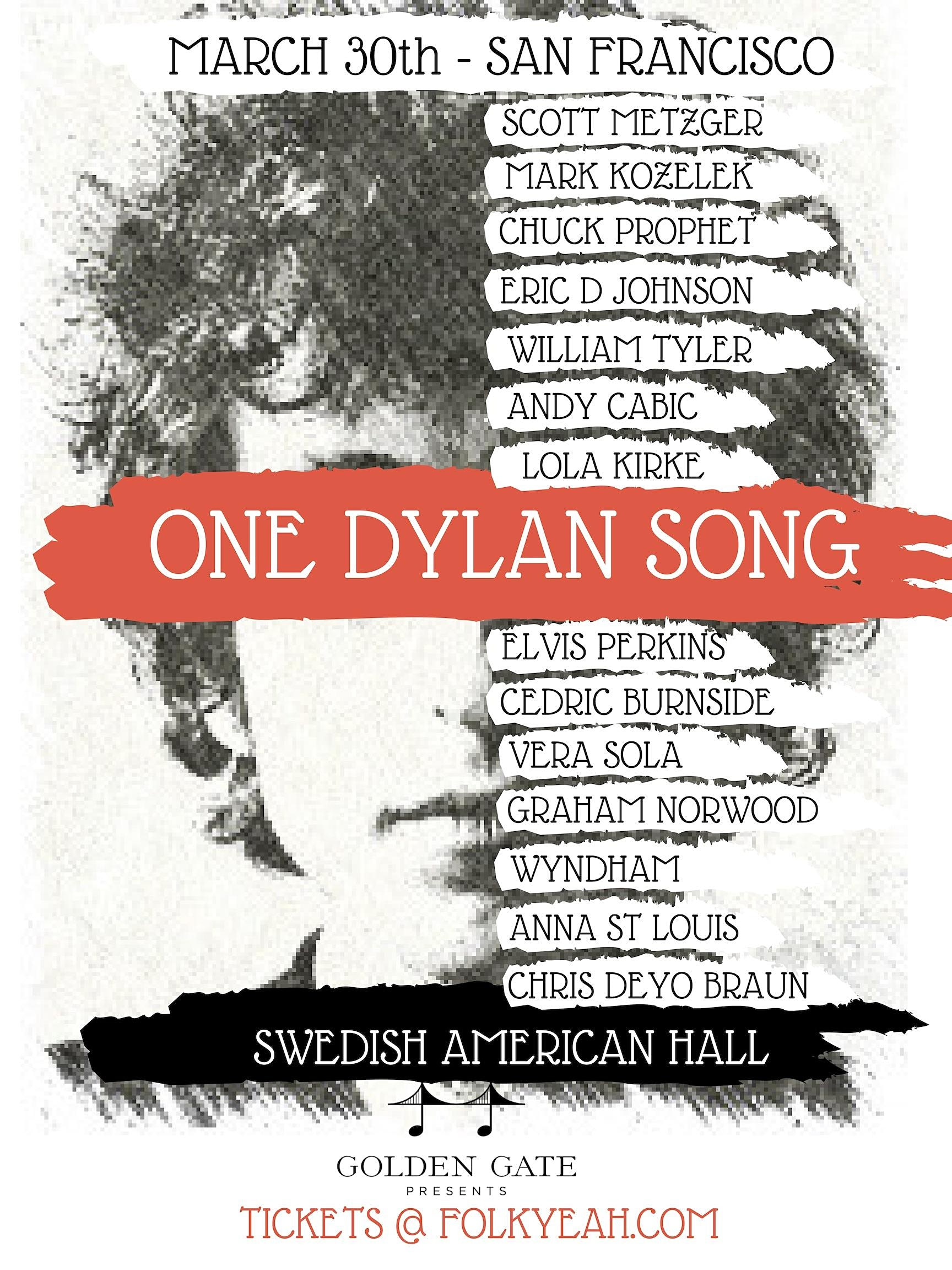 One Dylan Song