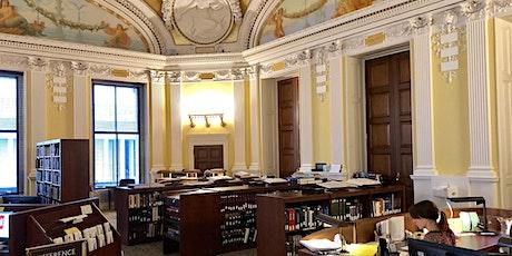 European Reading Room Research Orientation biglietti