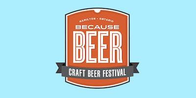 Because Beer Craft Beer Festival (Weekend Pass)