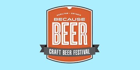 Because Beer Craft Beer Festival (Weekend Pass) tickets