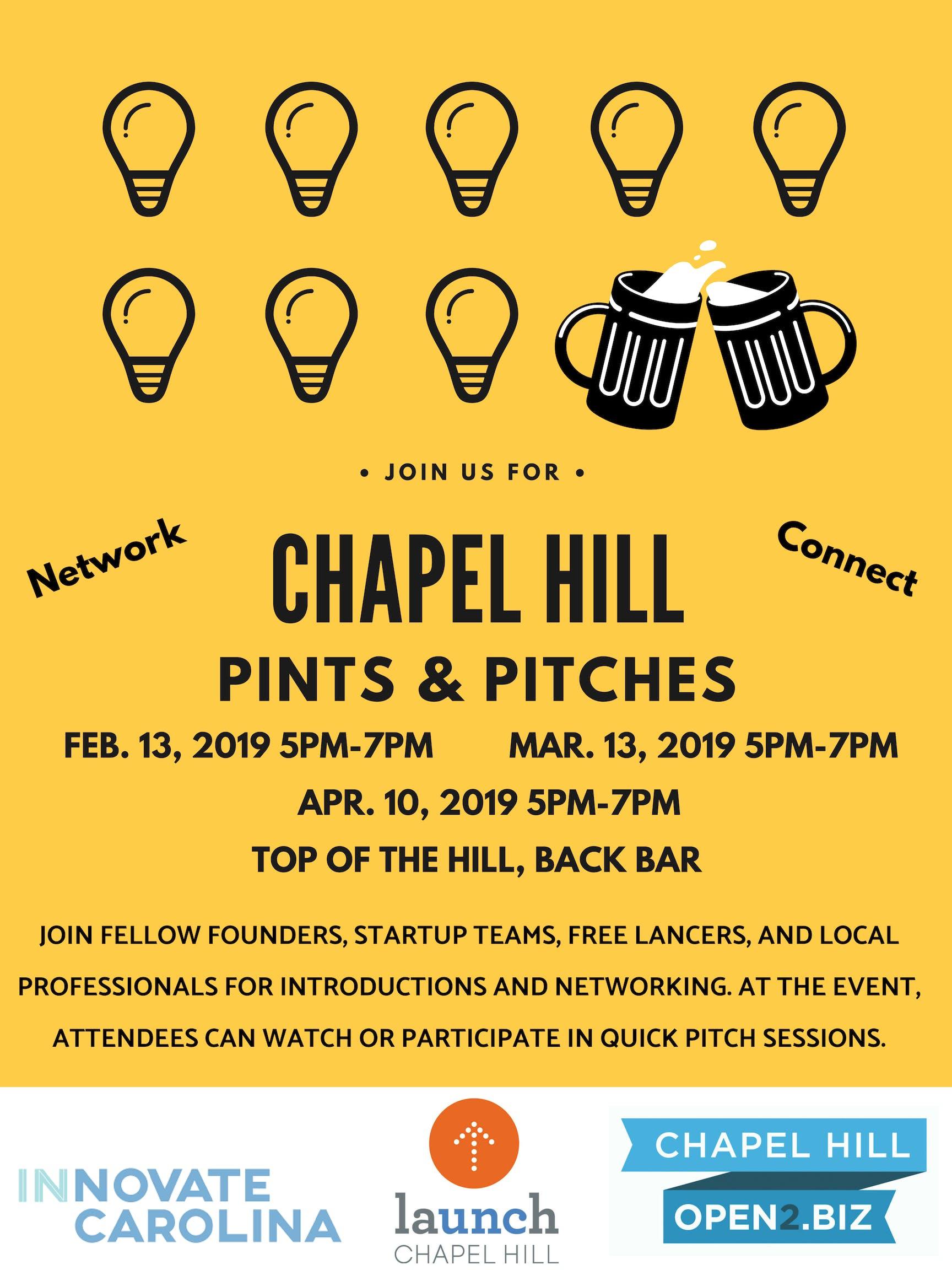 Pints & Pitches Chapel Hill