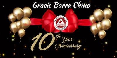 Gracie Barra Chino  10th Year Anniversary Celebration