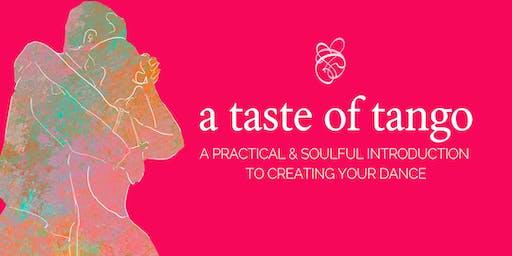 a taste of tango - absolute beginners workshop