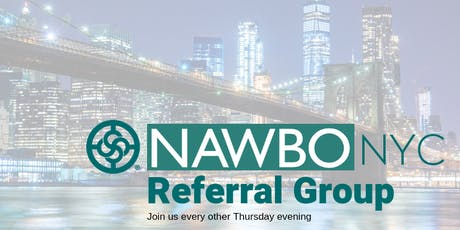 NAWBO Referral Group tickets