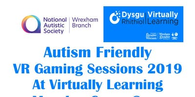 Autism Friendly VR and Gaming Sessions