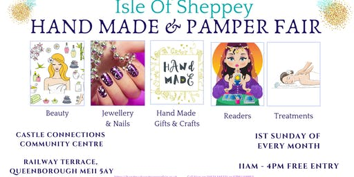 Hand Made And Pamper Fair, Isle Of Sheppey