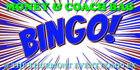 Money & Coach Bag Bingo tickets