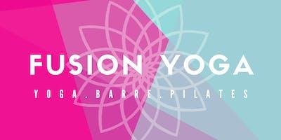 Fusion Yoga - Wednesday Evening