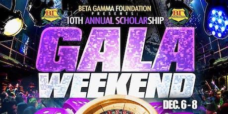 Beta Gamma Foundation Scholarship Gala Weekend 2019 tickets