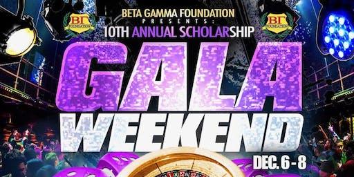 Beta Gamma Foundation Scholarship Gala Weekend 2019