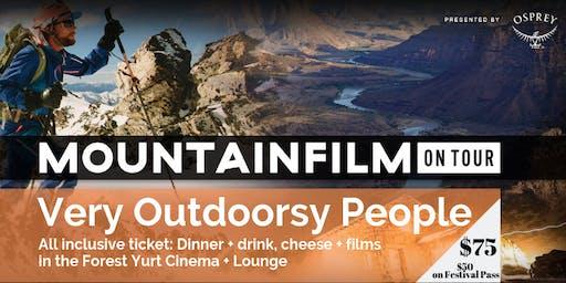 山地旅游电影-非常户外的人专属活动