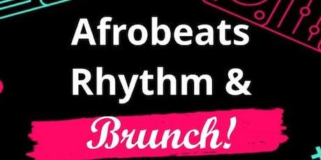 Afrobeats Rhythm & Brunch tickets