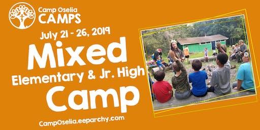 Oselia Mixed (Elementary & Jr. High) Camp
