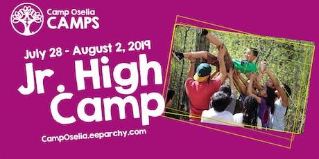 Oselia  Jr. High Camp tickets