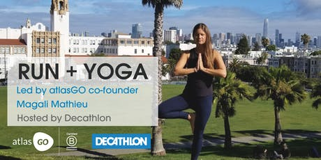 First Tuesday's Free Run + Yoga - AtlasGO Hosted by Decathlon tickets