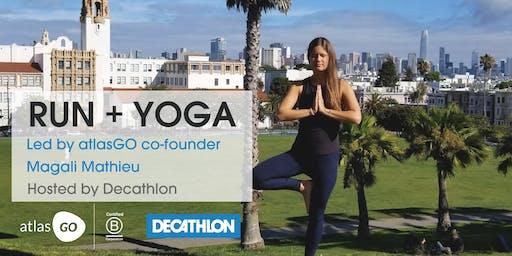 First Tuesdays Free Run + Yoga - AtlasGO Hosted by Decathlon