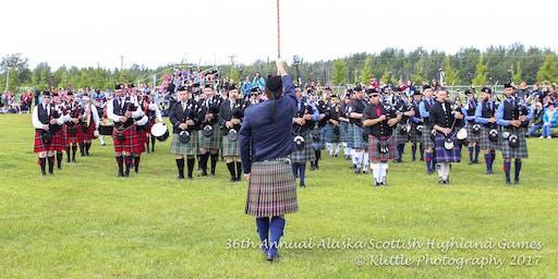 Piping and Drumming Registration - 2019 Alaska Scottish Highland Games