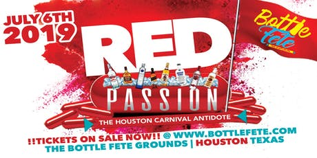 "BOTTLE FETE 2019 - ""Red Passion"" tickets"