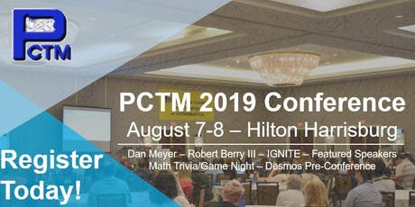 PCTM Annual Conference tickets