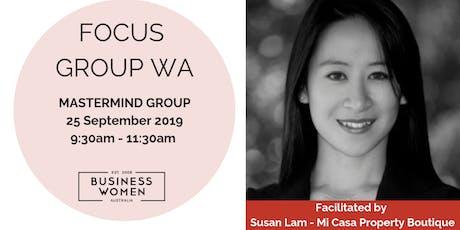 BWA Focus Group - Business Mastermind - Northbridge WA tickets