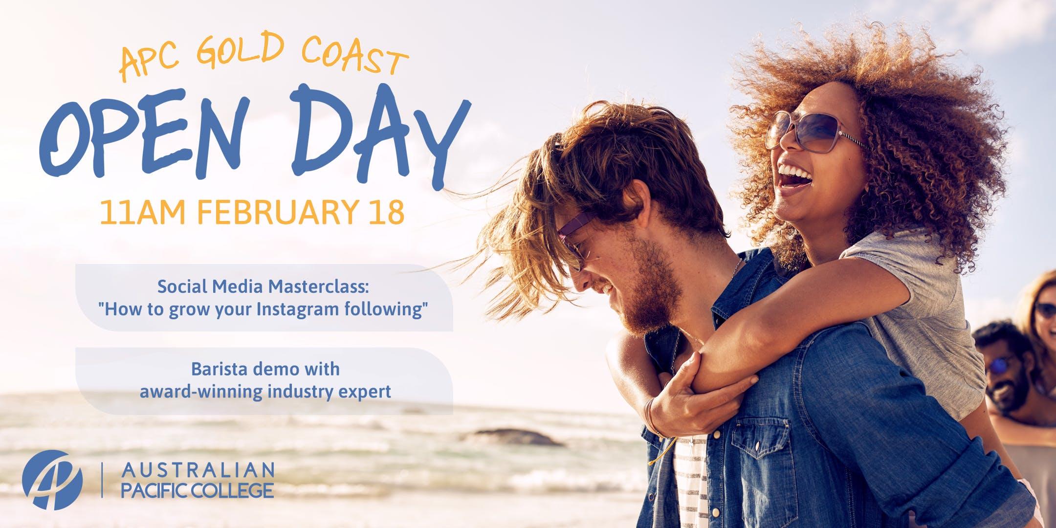 APC Gold Coast Open Day!
