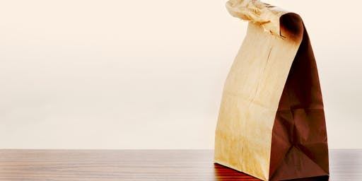 CIO brown paper bag lunch