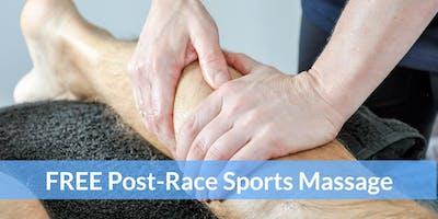 Eastleigh 10K 2019 Post-Race Sports Massage