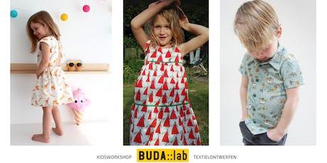 Kidsworkshop: Ontwerp je eigen stofje en laat het digitaal printen! tickets