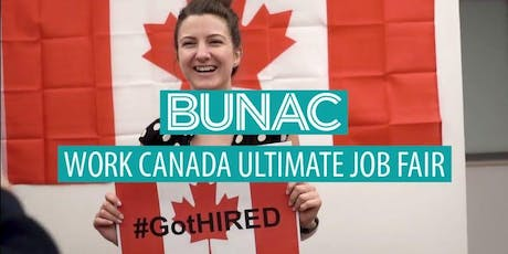 BUNAC Work Canada Job Fair tickets