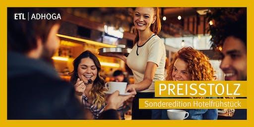 Preisstolz - Sonderedition Hotelfrühstück Hannover 27.08.2019