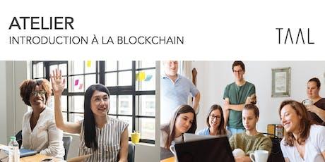 Atelier Octobre - Introduction à la Blockchain tickets